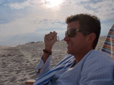 Jeff at the beach
