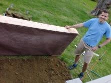 Jeff Building Raised Garden Bed