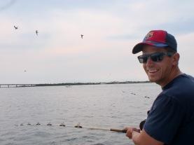 Jeff Whalen fishing