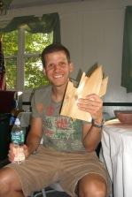 Jeff With Wood Blocks